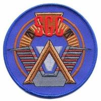 Ecusson logo du SGC comme vu dans Stargate Sg1