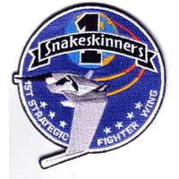 Ecusson Snakeskinners 1ère brigade des pilotes de F302 vu dans Stargate