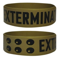 Bracelet wristband Doctor Who modèle Daleks exterminate