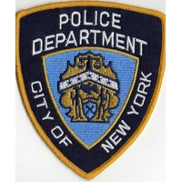 Lot de 2 ecussons de la police de New York NYPD