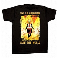 Tee shirt Heroes officiel modèle cheerleader