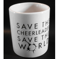 Tasse heroes officielle modèle Save the cheerleader