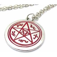 Collier supernatural symbole piège à démons devil's trap