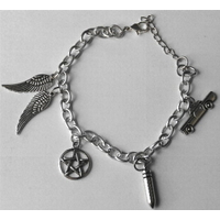 Bracelet de protection symboles série Supernatural