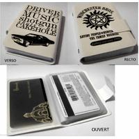 Porte cartes Supernatural en pvc