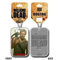 Collier the Walking Dead dog tag Daryl