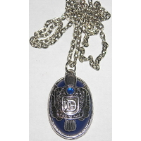 Collier Vampire Diaries blason Damon Salvatore