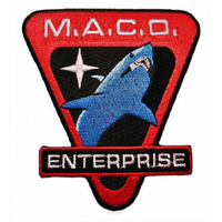 Ecusson Star Trek forces d'intervention MACO