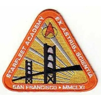 Ecusson logo Starfleet Academy vu dans Star Trek