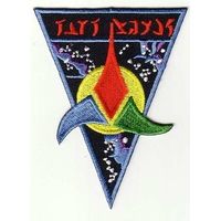 Ecusson Star Trek logo guerrier Klingon