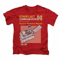 Tee Shirt Star Trek officiel Starfleet communicator