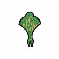 Ecusson Star Trek logo cardassien