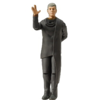 Figurine Spock agé Warp collection Playmates toys de 2009