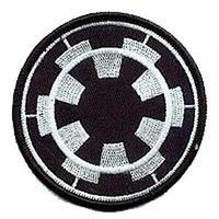 Ecusson Star Wars symbole des forces impériales