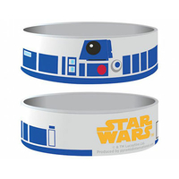 Bracelet Star Wars officiel D2R2 en silicone