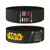 Bracelet Star Wars officiel Dark Vador en silicone
