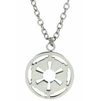 Collier Star wars symbole des forces de l'Empire