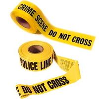Bande scene de crime: pour une décoration décalée pas cher
