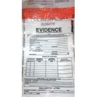 Sac en plastique pour indices de la police scientifique des Experts