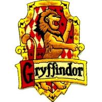 Blason du symbole de Gryffondor comme vu dans Harry Potter