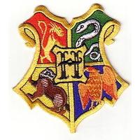 Blason de l'école de Poudlard comme vu dans Harry Potter