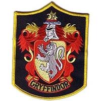 Ecusson de l'equipe Quidditch de gryffondor vu dans Harry potter