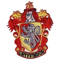 Harry Potter ecusson brodé blason école Gryffondor