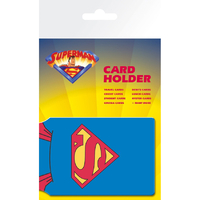 Porte cartes Superman officiel en pvc