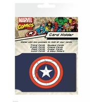 Porte cartes Captain America officiel en pvc