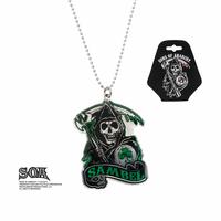 Pendentif officiel Sons of Anarchy logo Sambel en acier inoxydable