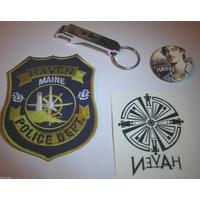 Lot Haven edition comic con porte cles ecusson tatouage et badge Haven
