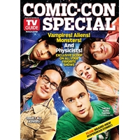 Comic con 2010 magazine Tv Guide special comic con Big bang Theory