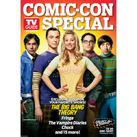 Comic con 2011 magazine Tv Guide special comic con Big bang Theory