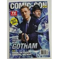 Comic con 2015 magazine Tv Guide special comic con Gotham