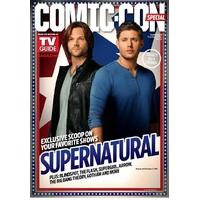 Comic con 2016 magazine Tv Guide special comic con Supernatural