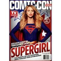 Comic con 2016 magazine Tv Guide special comic con Supergirl