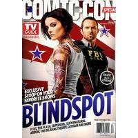 Comic con 2016 magazine Tv Guide special comic con Blindspot