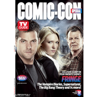 Comic con 2012 magazine Tv Guide special comic con Fringe flip cover