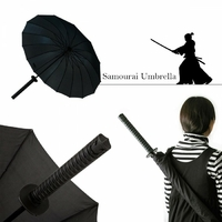 Parapluie Samouraï imitation katana idéal cosplay