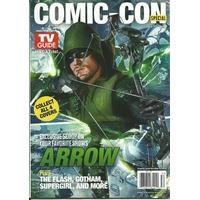 Comic con 2015 magazine Tv Guide special comic con Arrow
