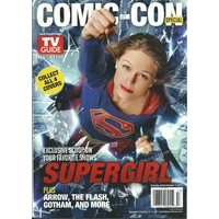 Comic con 2015 magazine Tv Guide special comic con Supergirl