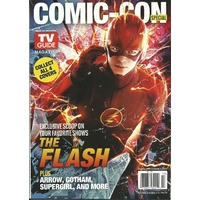 Comic con 2015 magazine Tv Guide special comic con The Flash