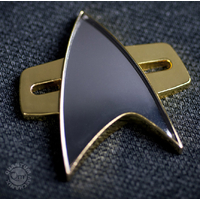 Insigne Officiel Star trek Voyager Quantum mechanix star trek communicator badge