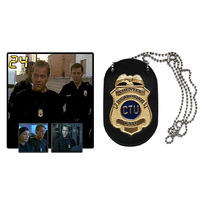 24 heures chrono Réplique Badge CTU cellule anti terroriste badge Jack bauer