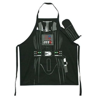 Star wars lot tablier et gant de cuisine Dark vador