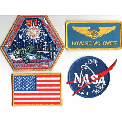 lot-ecussons-howard-wolowitz-astronaute