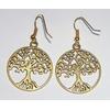 Once Upon A Time boucles d'oreilles Regina arbre de vie OUAT regina's earrings