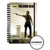 Cahier à spirale The Walking Dead modèle Rick Grimes