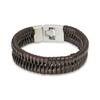 Bracelet Hank Moody en cuir marron vu dans la serie Californication