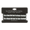 Lot 2 Bracelets Supernatural Officiels Dean girl Sam curious official bracelet lot